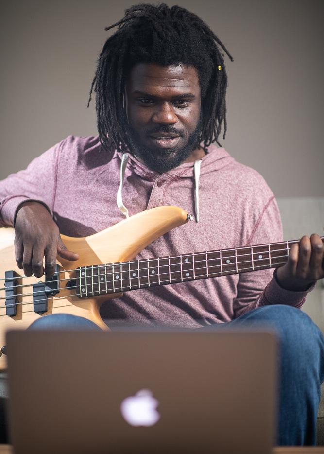 Jammin Player Bass Guitar